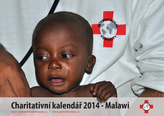 Charitativní kalendář 2014 - Malawi