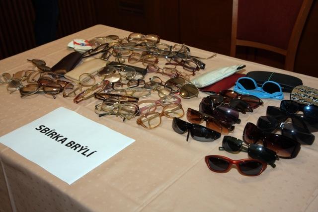Sbírka brýlí pro Malawi