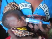 Krmení podvyživených dětí