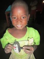 Radost z darovaného krtečka
